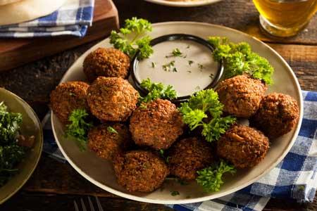 Фалафель: рецепт с историей. Арабская кухня у вас дома