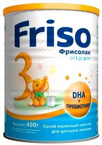 Молочный напиток Friso 3
