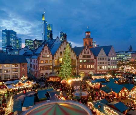 Германия Франкфурт Новый год