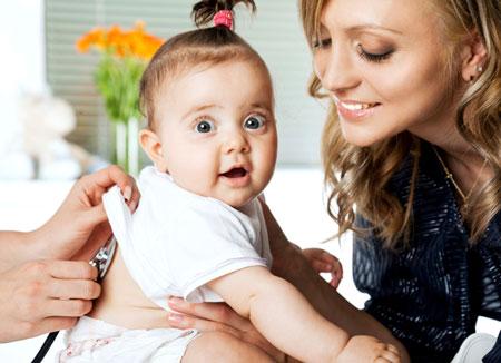 Ребенку 4 месяца температура