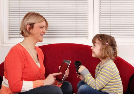 Смартфон для развития ребенка