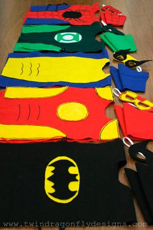 Костюмы супергероев для мальчиков: Новый год 2015