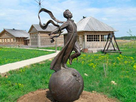 Памятники и музеи Этномира
