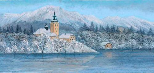Рождество в Ирландии, Словении, Швейцарии