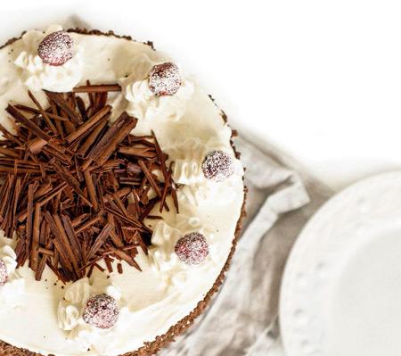 Домашний шоколадный торт к Новому году: пошаговый рецепт с фото