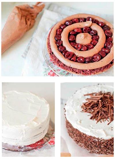 Украшения тортов с пошаговым фото