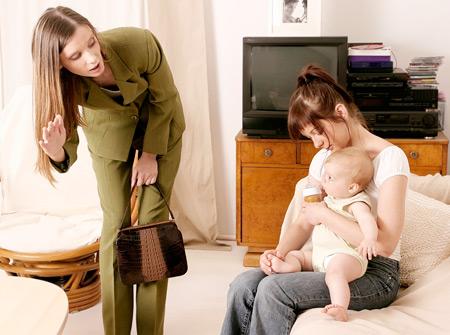 Моя прекрасная няня: правильная позиция мамы