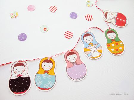 Шаблоны для вырезания: новогодние поделки с детьми