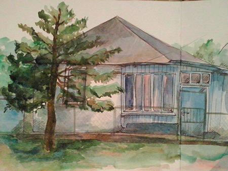 Дом, в котором варят глинтвейн и складывают журавликов