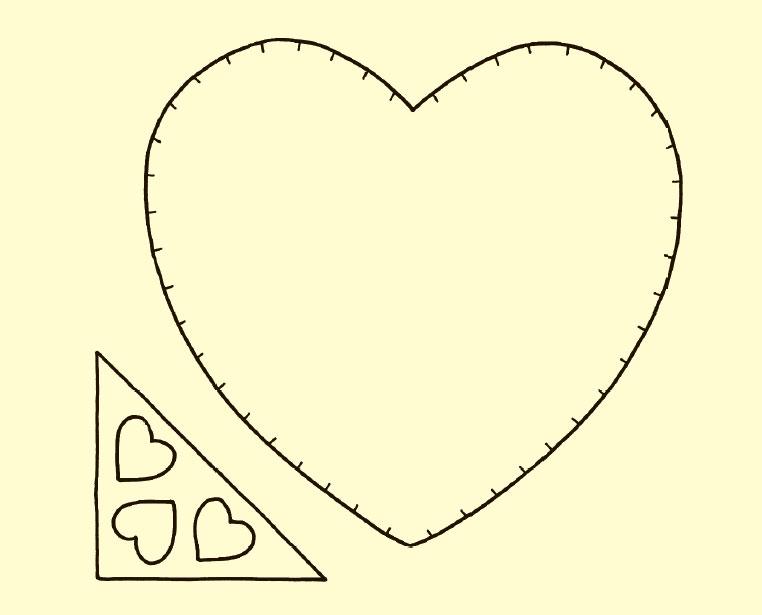 Открытка валентинка своими руками из бумаги шаблоны