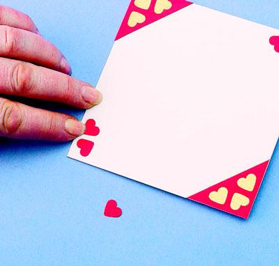 Как сделать сердце из картона и ниток