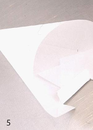 Как сделать бумажный кондитерский мешок