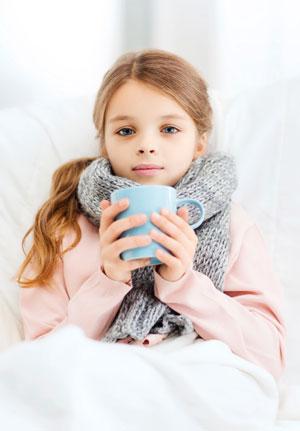 Лечение простуды и гриппа у детей