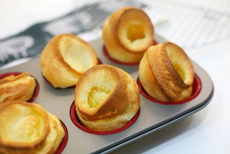 Закуски для фуршета: что вместо тарталеток? Йоркширские пудинги от Чадейки
