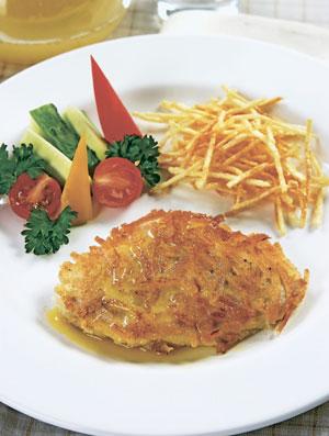 2 рецепта из курицы: шницель и котлеты по-киевски. Как приготовить?
