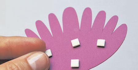8 марта: как сделать кружевную открытку своими руками