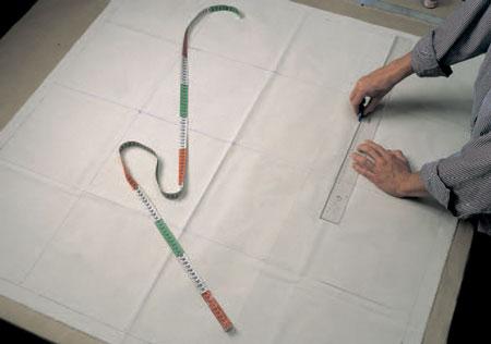 Лоскутное одеяло? Проще: стеганый коврик и роспись по ткани