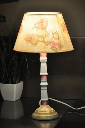 Неповторимый светильник – своими руками. Украшение дома к 8 марта