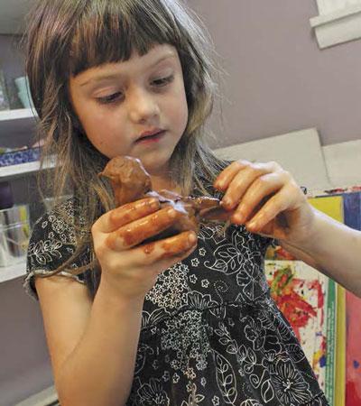 Как лепить с детьми из глины: 4 совета и одна поделка