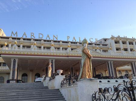 Отдых у моря-2015. Турция, отель 5, Мардан Палас – отзыв с фото