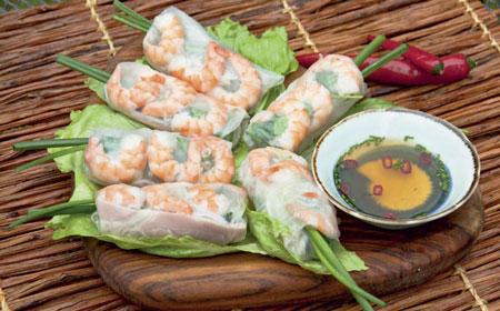 Весенние блинчики по-вьетнамски