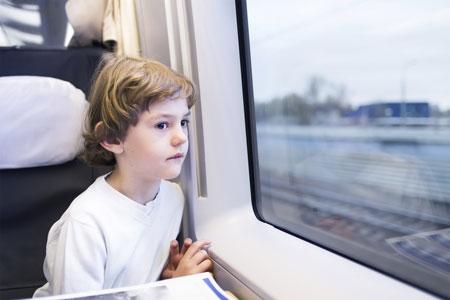 Путешествие на поезде с тремя детьми: что вас ждет
