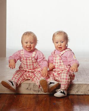 Особенности развития близнецов