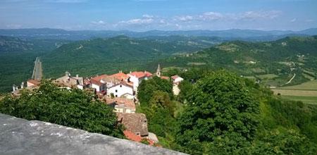 Зеленое на синем. Хорватия 2015: отдых на Истрии. Отзыв с фото