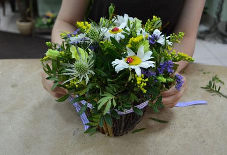 Летний букет из цветов