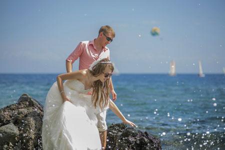 Отдых в Турции: свадебное путешествие и фотосессия