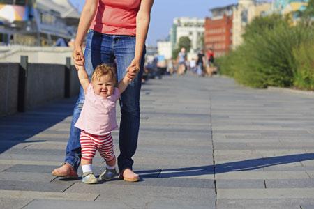 Лето в городе с малышом