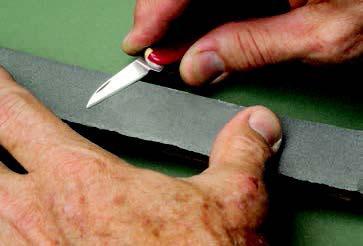 как заточить нож для резьбы по дереву