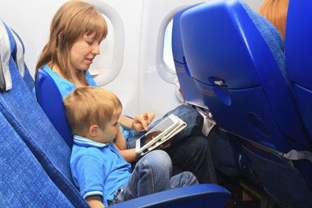 С ребенком в аэропорту и в самолете