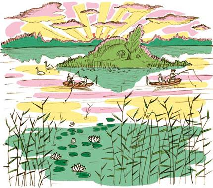 Озеро в Тверской области