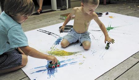Детский мячик рисунок