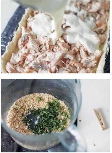 Рыбный пирог - рецепт теста и начинки