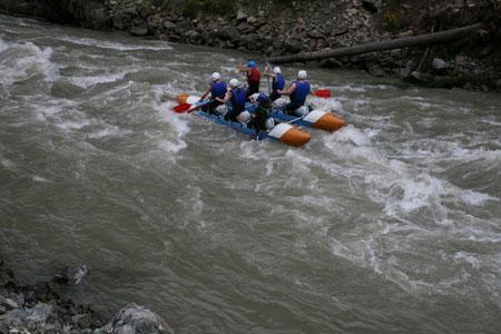 Рафтинг на Кавказе
