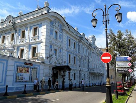 Достопримечательности Нижнего Новгорода - усадьба Рукавишниковых