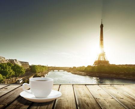 Месяц в Париже