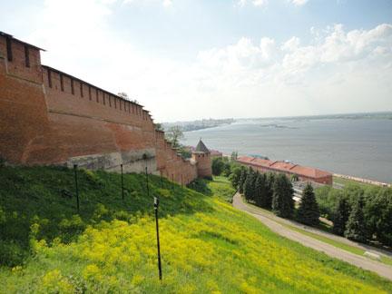 Крепостная стена Нижегородского Кремля
