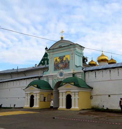 Туры на теплоходе - Кострома