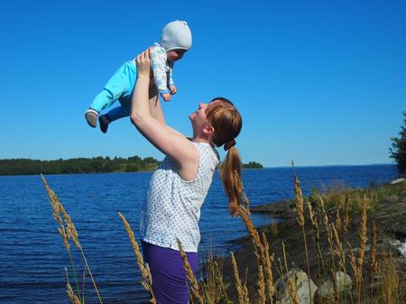Карелия, отдых с ребенком