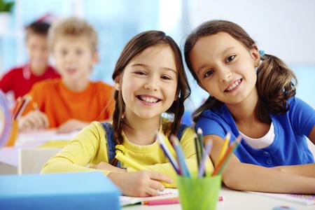 Мальчики и девочки в начальной школе