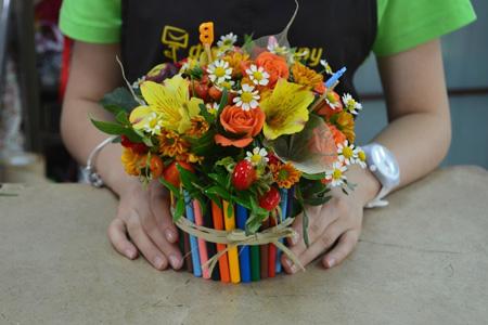 Цветы к 1 сентября