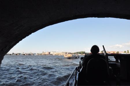 В Санкт-Петербург на машине
