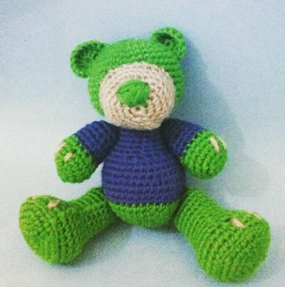 Медвежонок амигуруми своими руками