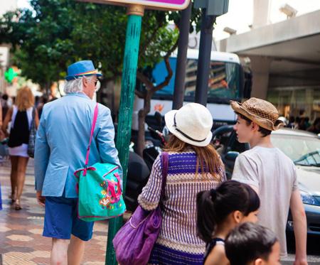 Пенсионеры в Мадриде