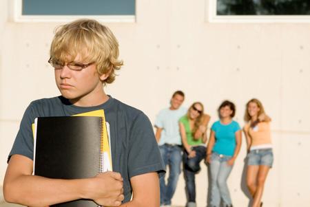 Подросток и домашние задания