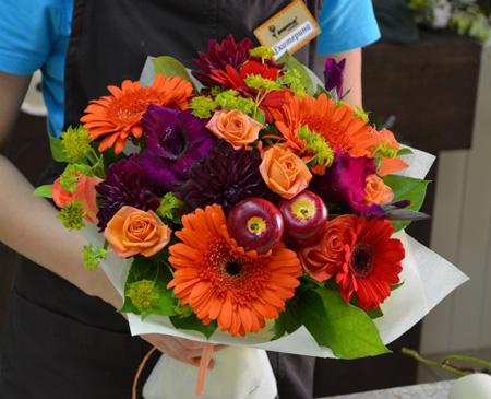День учителя букет цветов