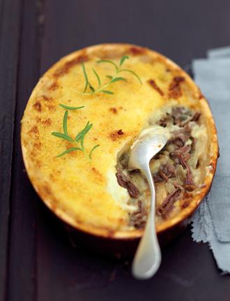 На ужин в духовке - Запеченное мясо с картофелем